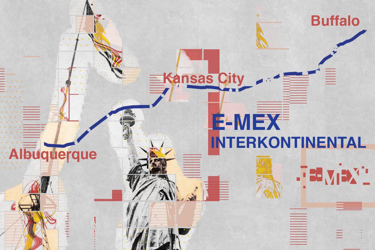 E-MEX INTERKONTINENTAL  USA-KONZERTREISE