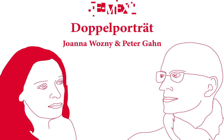 DOPPELPORTRÄT  JOANNA WOZNY  & PETER GAHN